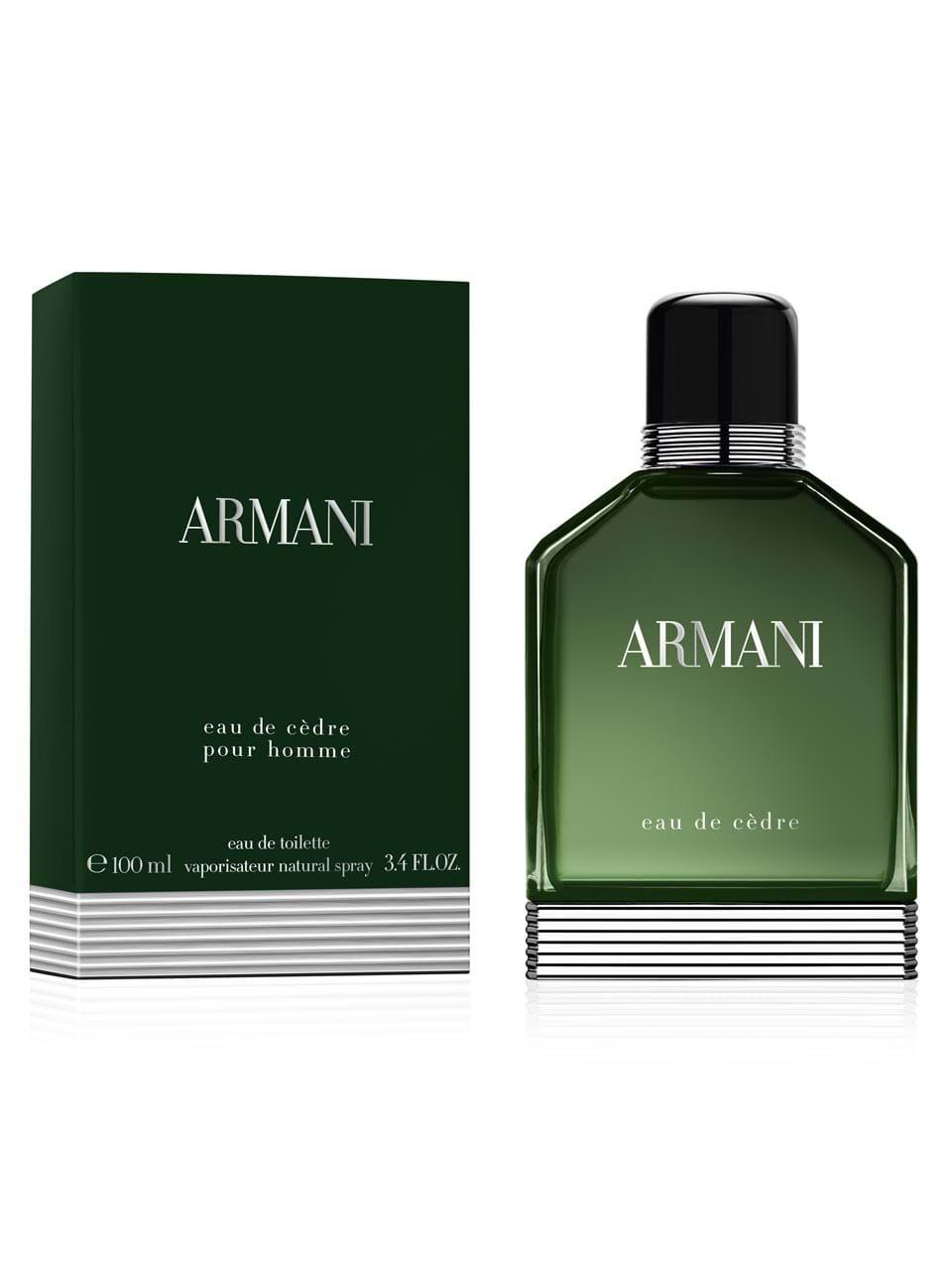 Eau Homme Giorgio Armani Cèdre 100 Ml De Pour Toilette shQtxBrdC