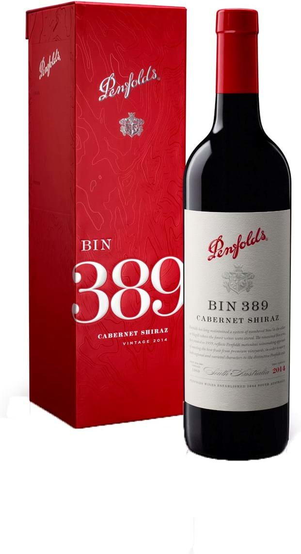Penfolds Bin 389 Cabernetshiraz South Australia Dry Red Gift