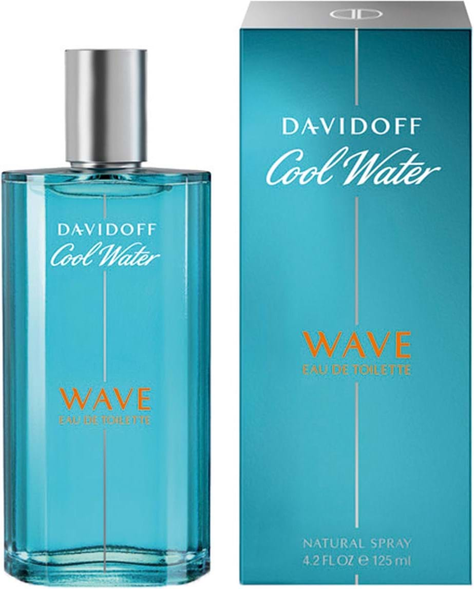 Davidoff Parfums Cool Water Wave Eau De Toilette 125 Ml