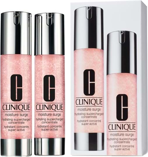 Clinique Moisture Surge Hydrating Supercharged Concentrate Duo Set Cont 2x Hydrating Supercharged Concentrate 50 Ml Gh