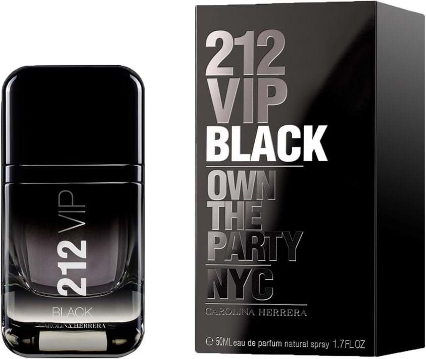 Carolina Herrera 212 Vip Black Eau De Parfum 50 Ml