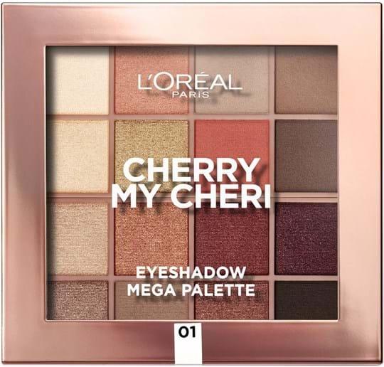 dc4d5fd0166 L'Oréal Paris Paradise Palette Paradise Palette 16 shades Cherry my Cheri  N° 1 34 ml