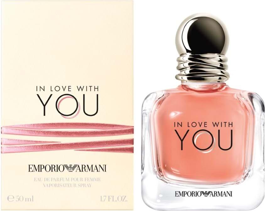 Giorgio Armani Emporio In Love With You Eau De Parfum Intense 50 Ml