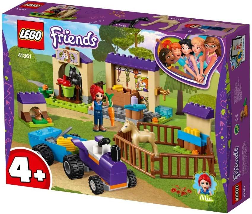 LEGO, LEGO Friends, mia's foal stable