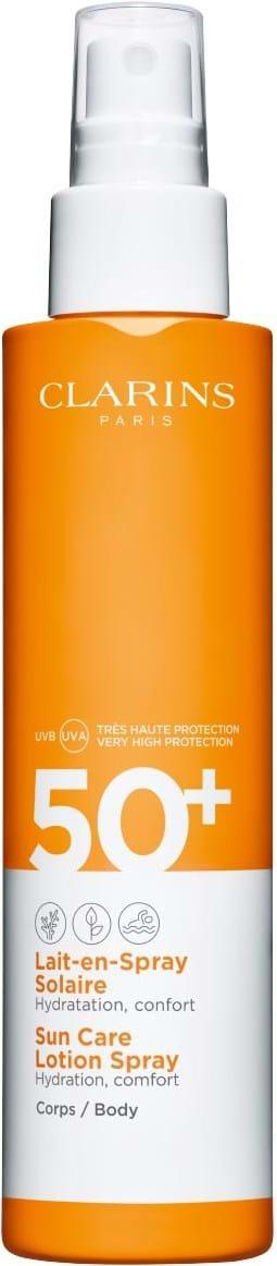 �ล�าร���หารู��า�สำหรั� CLARINS Sun Care Body Lotion Spray