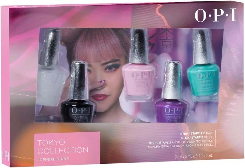 OPI Tokyo Infinite Shine Nail Polish Set
