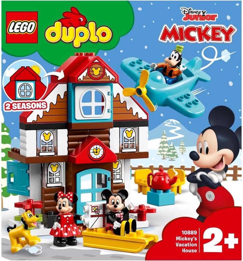 Lego Duplo Disney Tm Mickeys Vacation House