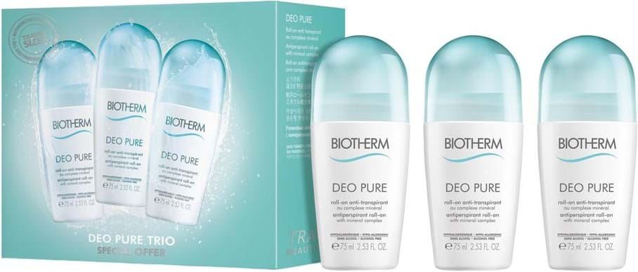 Kendte Biotherm Pure Deodorant Roll-On Trio GX-39
