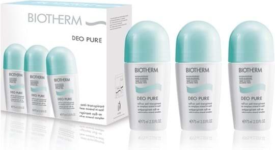 Folkekære Biotherm Pure Deodorant Roll-On Trio RF-34