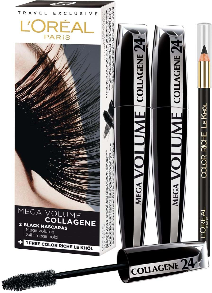 81236f3ced5 L'Oréal Paris Mega Volume Collagene Mascara Duo