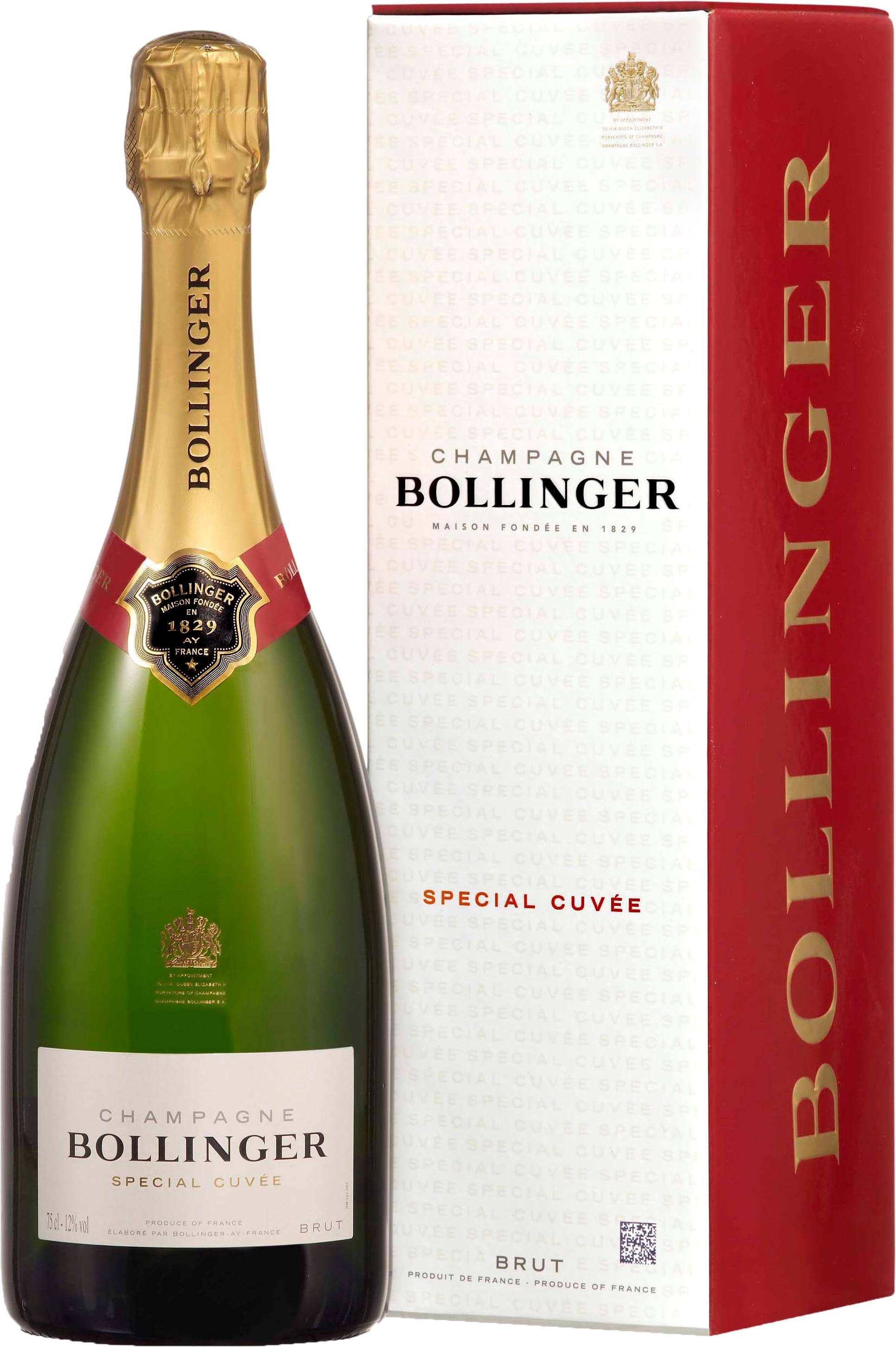 Rask Bollinger, Special Cuvée, Champagne, AOC brut, white (gift box) 0.75L PC-14