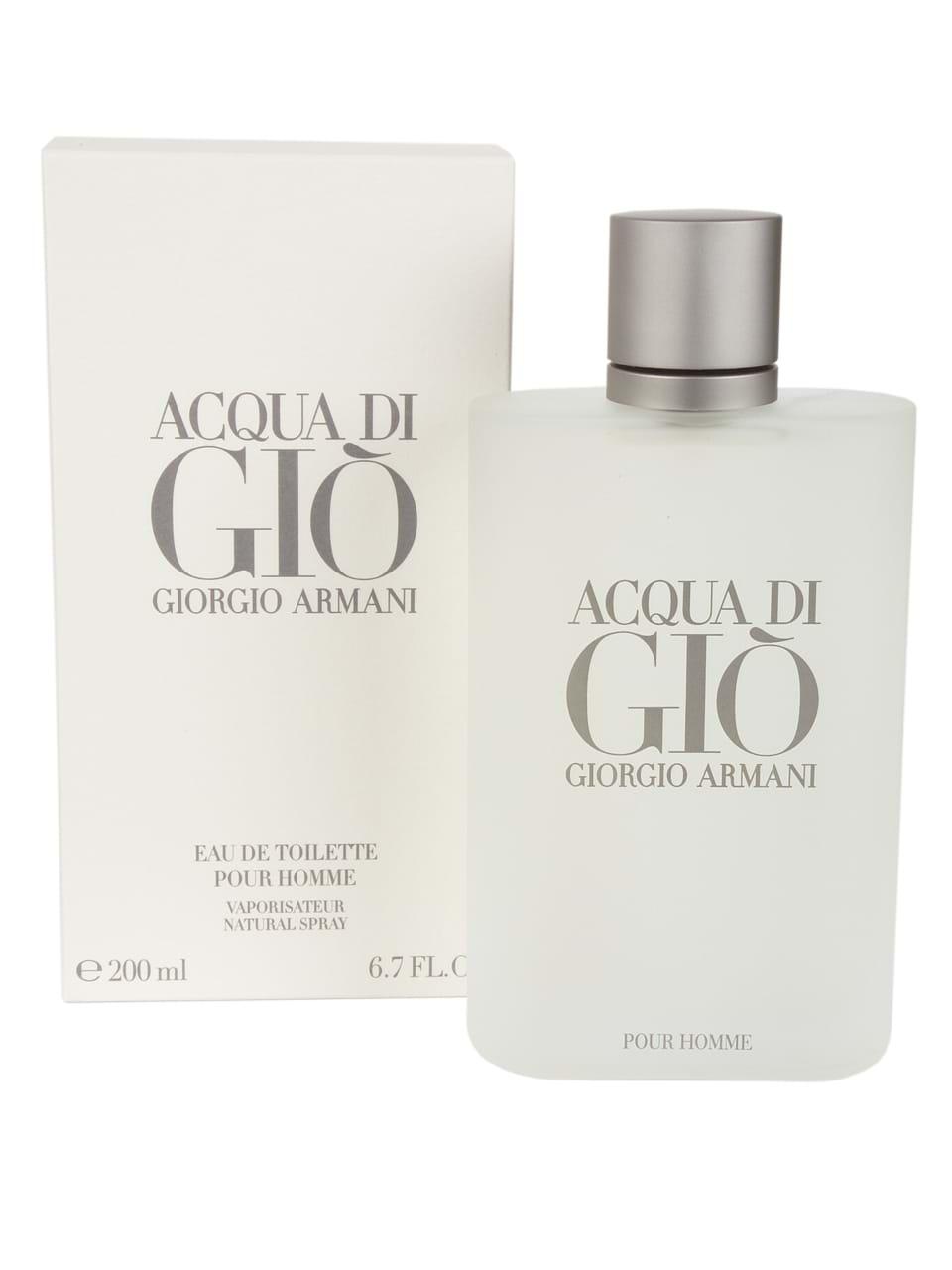 Pour Toilette Di Eau Homme Giorgio Armani Ml Acqua Giò 200 De n0wXN8OPk