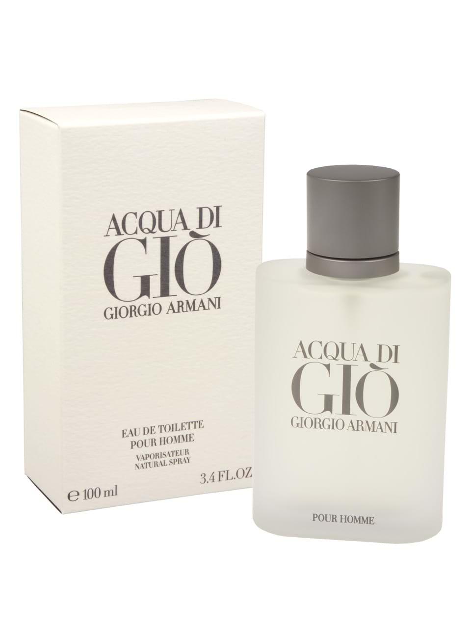 Giorgio Giò Armani Ml Pour Acqua 100 Eau De Homme Di Toilette TcKJl13F