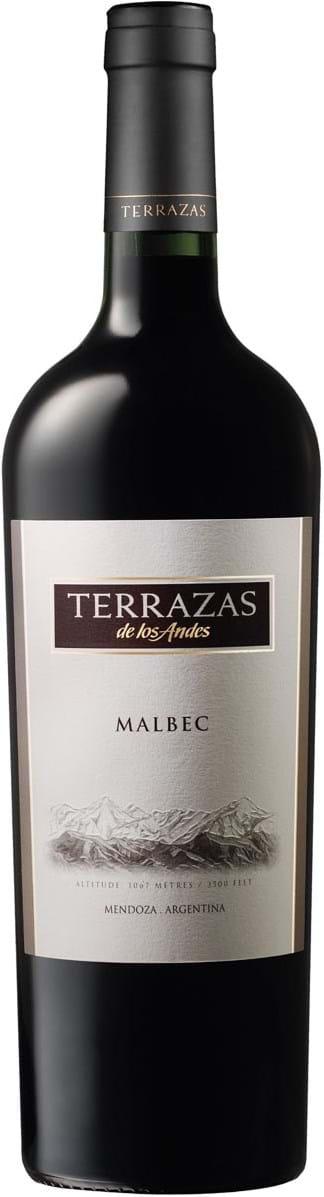 Terrazas De Los Andes Malbec Mendoza Dry Red 0 75l