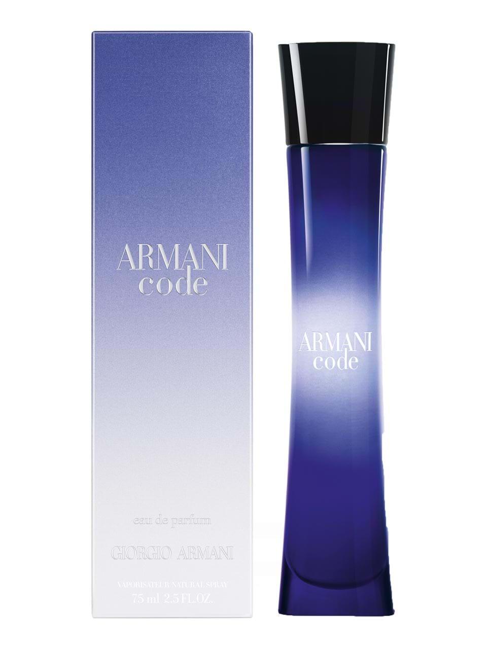 Armani De Ml Femme Code Parfum 75 Giorgio Pour Eau yI6Yf7bgv