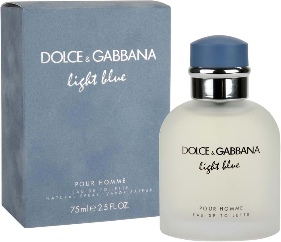 f7d18f7317e7 Dolce   Gabbana Light Blue Pour Homme Eau de Toilette 75 ml