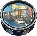 Kelsen Danish Butter Cookies i dåse med forskellige design, 454g