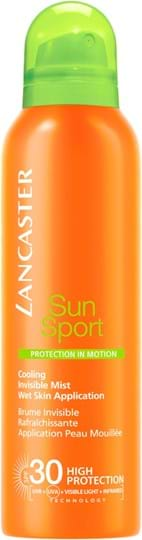 Lancaster Sun Care Invisible Mist Wet Skin Application SPF30