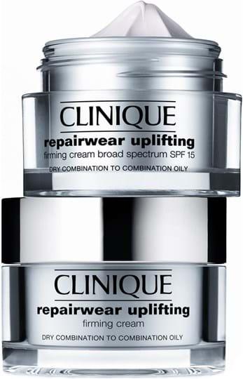 Clinique Repairwear uplifting Repairwear Duo Set Cont.: Uplifting SPF15 Firming Cream 2x50ml