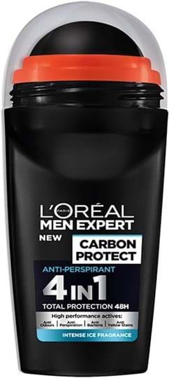 L'Oréal Paris Men Expert Carbon Protect Anti-Perspirant Intense Ice Deo Roll-On 50ml