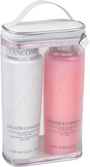 Lancôme Skincare Set Wash The Day Off Renovation Set cont.: Galatée Confort 400 ml (GH 975578) + Tonique confort 400 ml (GH 639002)