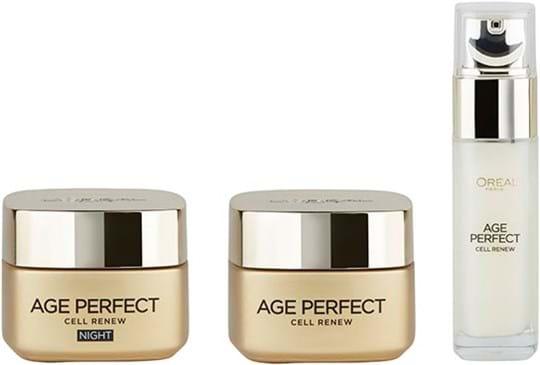 L'Oréal Paris Age Perfect Cell Renew Program-sæt