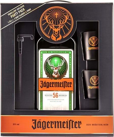 Jägermeister 35% 1,75L partypack