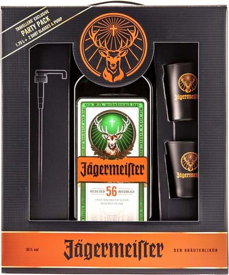 Jägermeister 35% 1.75L Partypack