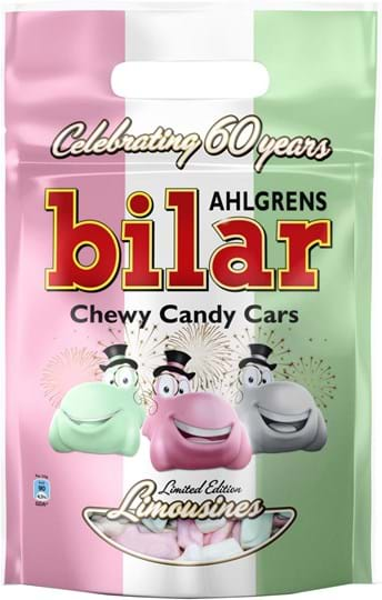 Ahlgrens Chewy Candy Cars in an Exclusive Limited Edition Travel Bag