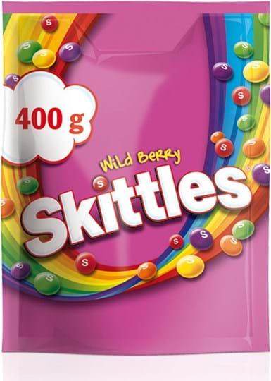 Skittles Wild Berry Pouch, 400g