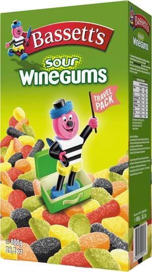 Bassett's Sour Winegums 800g