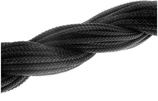 BA Optikk, Nylon spring with rubber ends in color black
