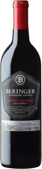 Beringer, Founders' Estate, Cabernet Sauvignon, California, tør, rød, 0,75L