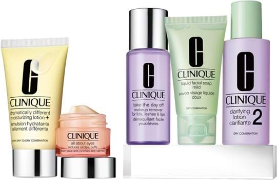 Clinique Daily Essentials Dry Combination-sæt