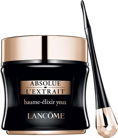 Lancôme Absolue L Extrait Eye Ritual cont.: Eye Cream 15ml + 6 Patches 7.5g + Massaging Petal Applicator (selective doors only)