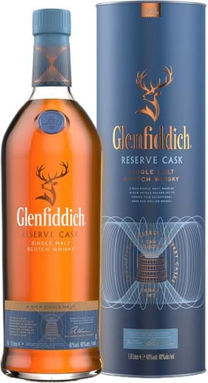 Glenfiddich Reserve Cask 40% 1L Tube