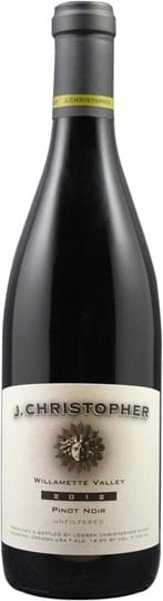 J. Christopher, Pinot Noir, Willamette Valley, Oregon, rød, tør, 0,75L