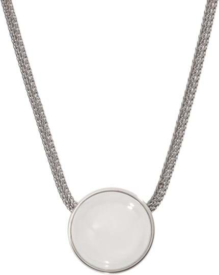 Skagen Sea Glass Women's necklace, stainless steel, silver