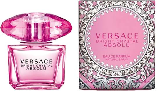 Versace Bright Crystal Absolu Natural Eau de Parfum 90 ml