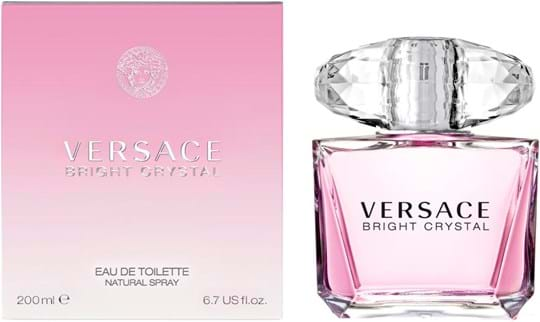 Versace Bright Crystal Natural Eau de Toilette 200 ml