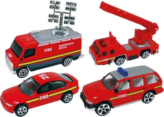 Premier Portfolio An exclusive collection of some well known fire trucks. A great value gift.
