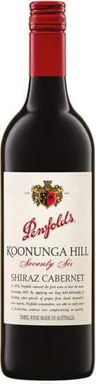 Penfolds, Koonunga Hill 76, Shiraz / Cabernet Sauvignon, South Australia, tør, rød 0,75L (skruelåg)