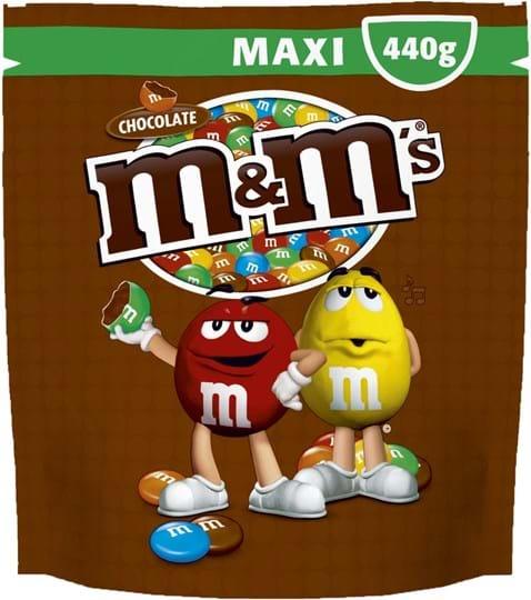 M&M's Maxi pouch choco, 440g