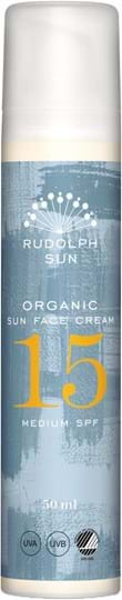 Rudolph Care Organic Sun Face Cream SPF 15 50 ml