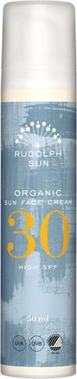 Rudolph Care Organic Sun Face Cream 30 SPF 50 ml