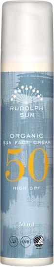 Rudolph Care Organic Sun Face Cream 50 SPF 50 ml