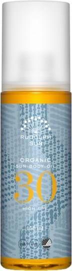 Rudolph Care Organic Sun Body Oil 30 SPF 150 ml