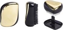 Tangle Teezer Compact Styler Hair Brush in Black/Gold