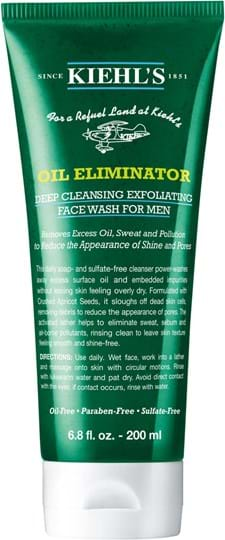 Kiehl's Oil Eliminator Deep Cleansing Exfoliating Face Wash