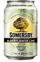 Somersby Elderflower Lime Cider 0.33L Tin deposit